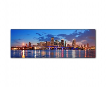 Panoramabild Miami Beach Skyline